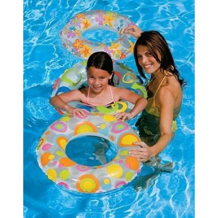 Круг для плавания 51 см (от 3-6 лет) Intex