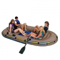 Лодка надувная четырёхместная EXCURSION Intex