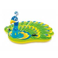 Надувной матрас-игрушка «Павлин» Peacock Island 57250 193х163x94см Intex