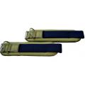 Цветные овальные манжеты на липучке (пара) ULTIMATE Sport