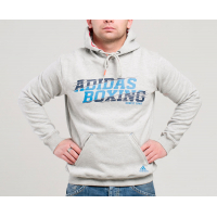 Толстовка Adidas GRAPHIC HOODY BOXING