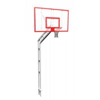Стойка баскетбольная разборная бетонируемая, вынос 120 см.
