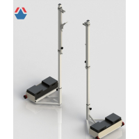Стойки волейбольные мобильные с площадкой под противовес ОС-1.1