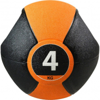 Медицинбол с ручками PURE2IMPROVE MEDICINE BALL