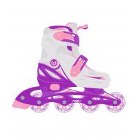 Ролики раздвижные Cricket Purple, пластиковая рама Ridex