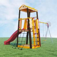 Детский спортивный комплекс для дачи РОМАНА Избушка