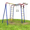 Детский спортивный комплекс для дачи РОМАНА Веселая лужайка - 2
