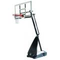 """Баскетбольная стойка мобильная, стекло Spalding 54"""" Glass Hybrid Portable"""