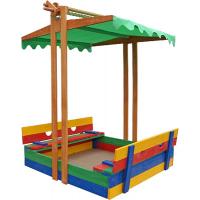 Песочница деревянная цветная Sportbaby 10