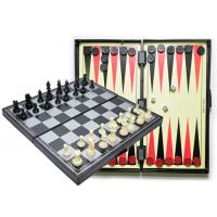 Игра магнитная 3 в 1 (шахматы, шашки, нарды) 24х12 см (1012) Sprinter