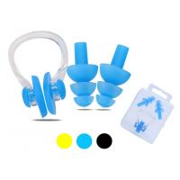 Набор для плавания ( беруши + зажим носа ) в коробочке Sprinter C-0317
