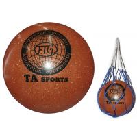 """Мяч для художественной гимнастики, имитация """"металлика"""", 15 см Sprinter Т13-ОРА"""