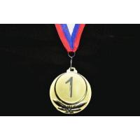 Медаль наградная с лентой, d - 65мм 5202-2 Sprinter