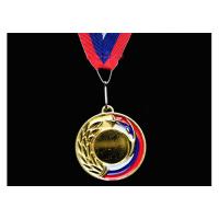 Медаль наградная с лентой, d - 65мм 5201-18 МАГДАЛЕНА Sprinter