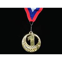 Медаль наградная с лентой, d - 65мм 5201-24 ТИЛЬВА Sprinter