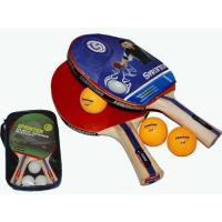 Набор для настольного тенниса  (2 ракетки + 3 шарика) в сумочке Sprinter ВВ01