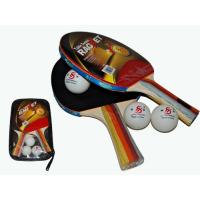 Набор для настольного тенниса (2 ракетки, 3 шарика, чехол) Sprinter 3215