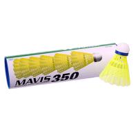 """Волан пластиковый """"YONEX"""" , головка пробка - кожа уп.6шт. (туба) MAVIS-350 Sprinter"""