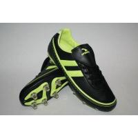 Бутсы футбольные р.38-45 AX2376-39BLACK/FLUOR GREE Sprinter
