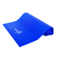Коврик для йоги синий Aerofit