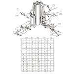 Силовой комплекс Multigym DFC HM026