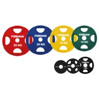 Диски обрезиненные цветные FOREMAN FM-PRR
