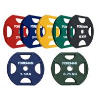 Диски уретановые цветные X-TRAINING FOREMAN FM-UPX