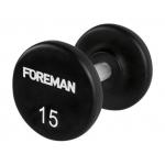 Гантели фиксированные уретановые FOREMAN FM-AUD от 2 до 70 кг