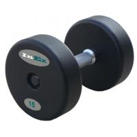 Гантели фиксированные обрезиненные INEX FM-GRD от 12 до 46 кг