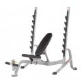 Олимпийская скамья HOIST HF-5170 7 Position FID Bench