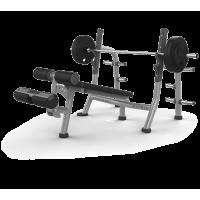 Скамья для жима с отрицательным наклоном Matrix MAGNUM A80