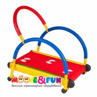 Детский тренажер Беговая дорожка SH-01 с диском-твист