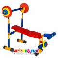 Детский тренажер скамья для жима SH-06