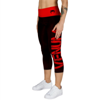 Капри Venum Power - Black/Red