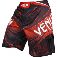 Шорты MMA Venum Galactic Black/Red