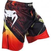 Шорты MMA Venum Lyoto Machida Tatsu King Black/Orange