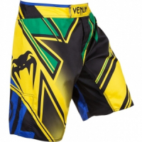 Шорты MMA Venum Wand's Conflict Yellow/Blue/Green