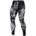 Компрессионные штаны Venum Minotaurus Black/White