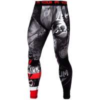 Компрессионные штаны Venum Werewolf Black/Grey