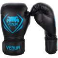 Перчатки боксерские Venum Contender Black/Cyan