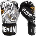 Перчатки боксерские Venum Dragon's Flight Black/White
