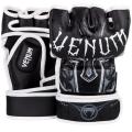 Перчатки ММА Venum Gladiator Black/White