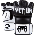Перчатки ММА Venum Undisputed Black Nappa Leather