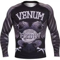 Рашгард Venum Black Eagle Fedor Signature L/S