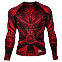 Рашгард Venum Gladiator Black/Red S/S