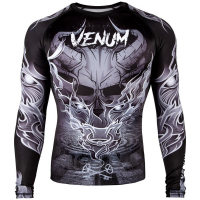 Рашгард Venum Minotaurus Black/White S/S