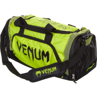 Сумка Venum Trainer Lite Black/Neo Yellow