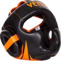 Шлем боксерский Venum Challenger 2.0 Neo Orange/Black