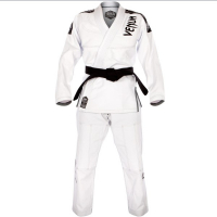 Кимоно для бжж Venum Challenger 3.0 White/Grey