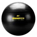 Гимнастический мяч ZIVA с насосом чёрный (55см, 65см, 75см)